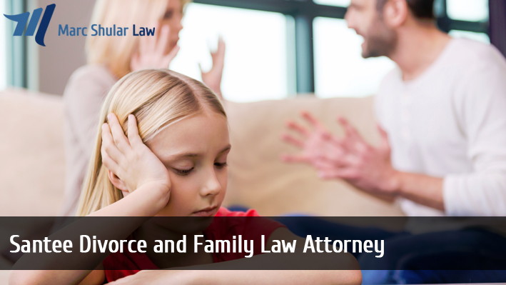 Santee Divorce and Family Law Attorney